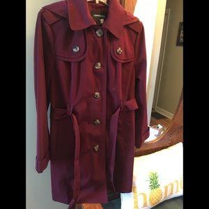 London Fog Raincoat w/Removable Hood